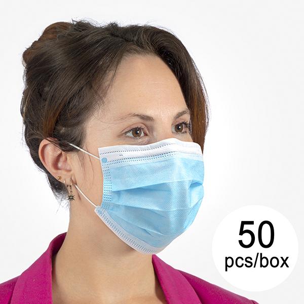 Kirurška Maska s 3 Sloji ST (Paket 50 kosa)