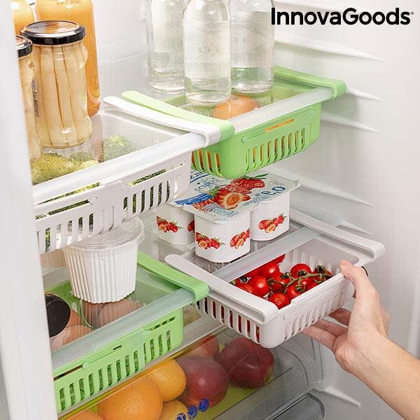 Nastavljiv organizator za hladilnik Friwer  (paket 2 kosa)