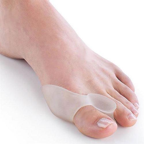 1 par univerzalnih ščitnikov za ukrivljen nožni palec (Hallux valgus), iz silikona!