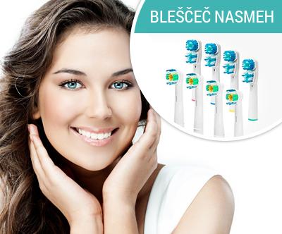 komplet 8 kompatibilnih nastavkov (glave) za električne zobne ščetke blagovne znamke ORAL-B