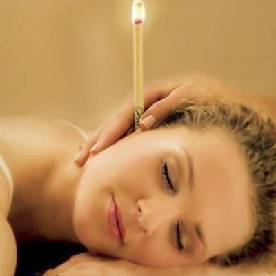 Paket 10 svečk iz naravnega čebeljega voska / Kot terapija pri prehladih, gripi, ......