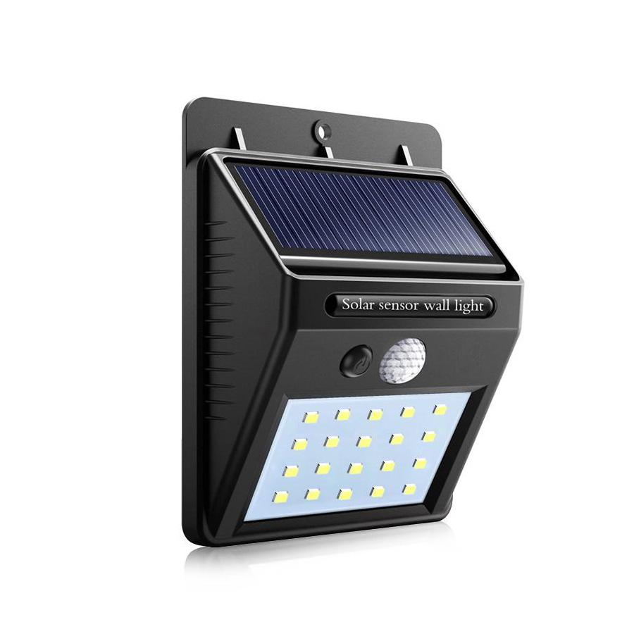 LED solarna svetilka s senzorjem